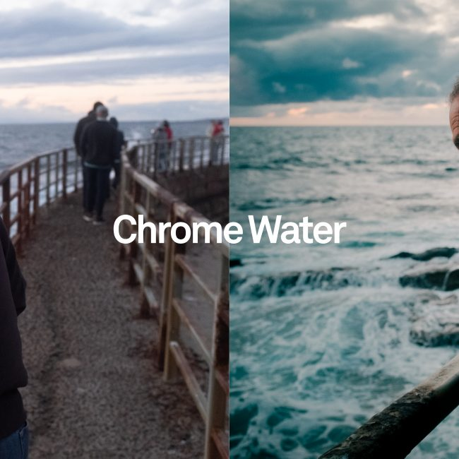 before and after chrome water