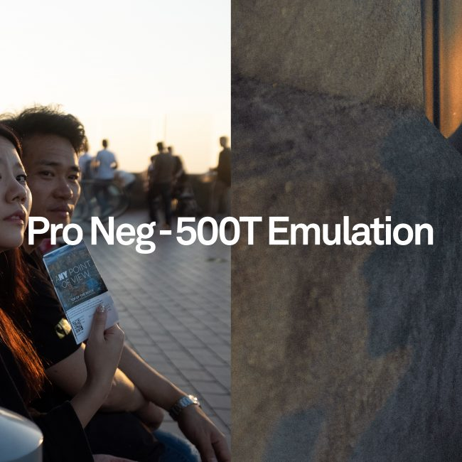 before and after shot of Pro Neg